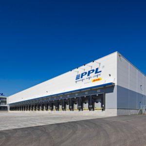 Logistický areál DHL (PPL) Jažlovice